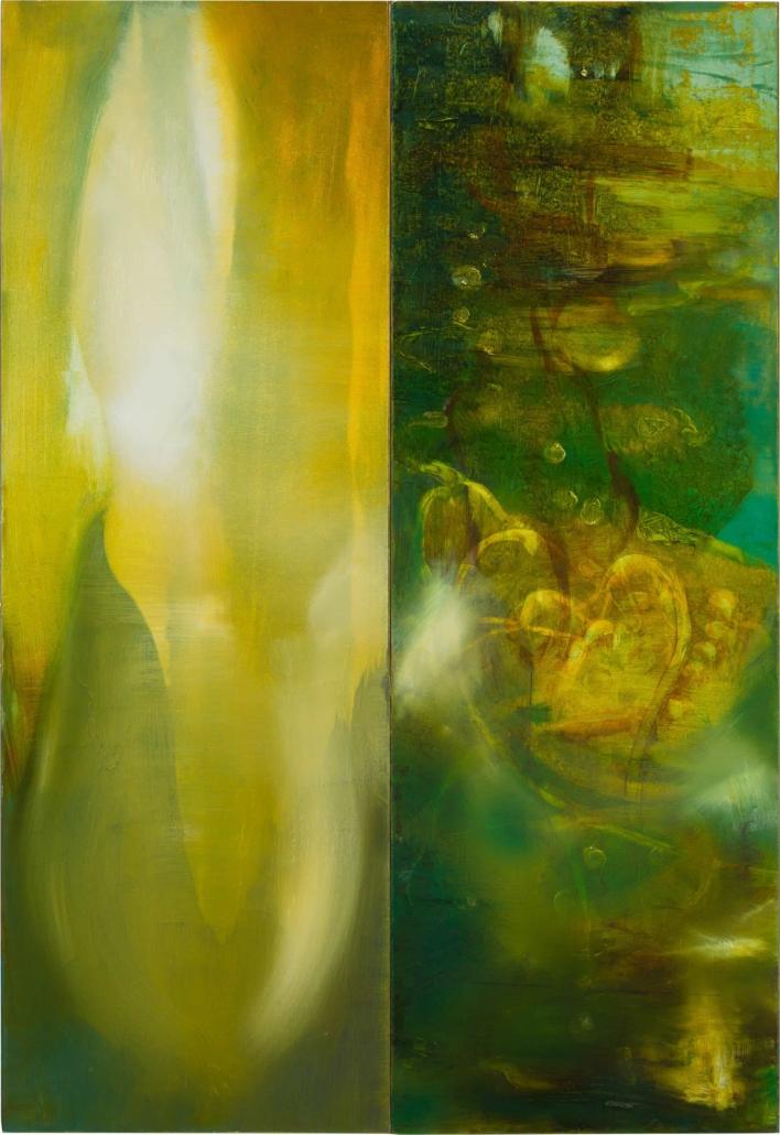 Nr.3 | 76 x 53 cm | z.t. |olieverf | 2 panelen | 2016