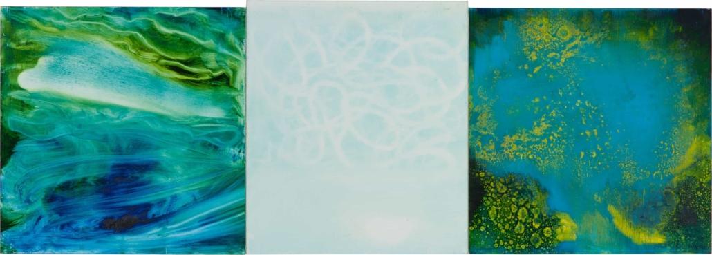 Nr.7 | 108 x 40 cm | z.t. |olieverf | 3 panelen | 2016