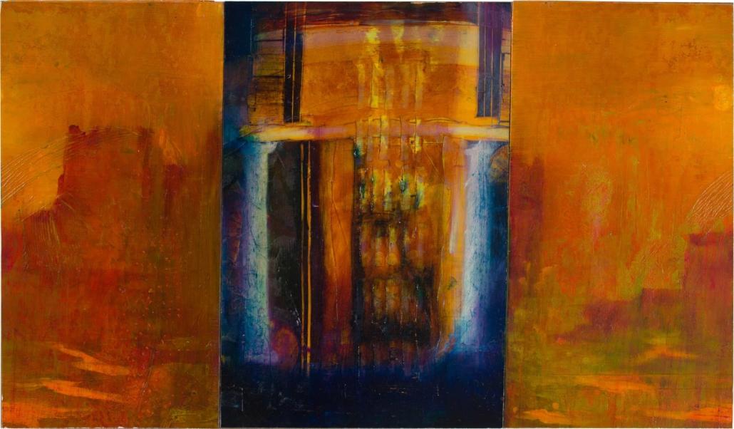 Nr.9 | 80 x 46 cm | z.t. |olieverf | 3 panelen | 2016