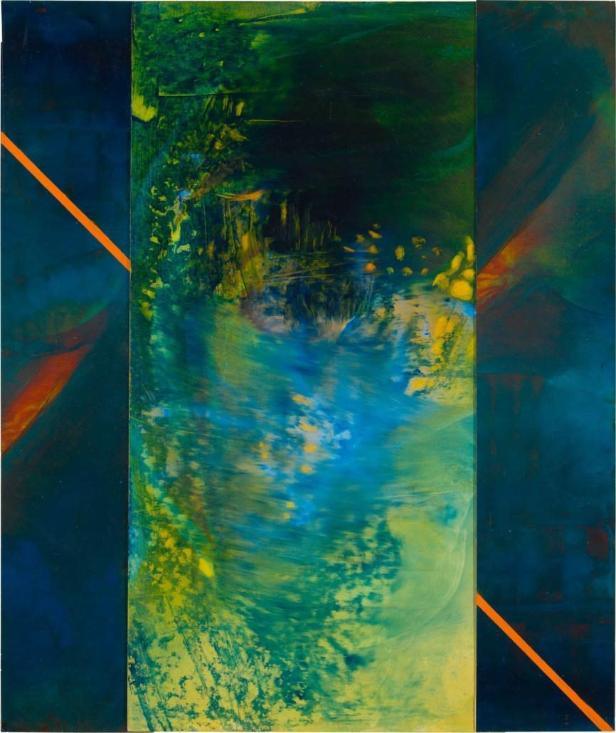 Nr.12 | 59 x 70 cm | z.t. |olieverf | 3 panelen | 2017