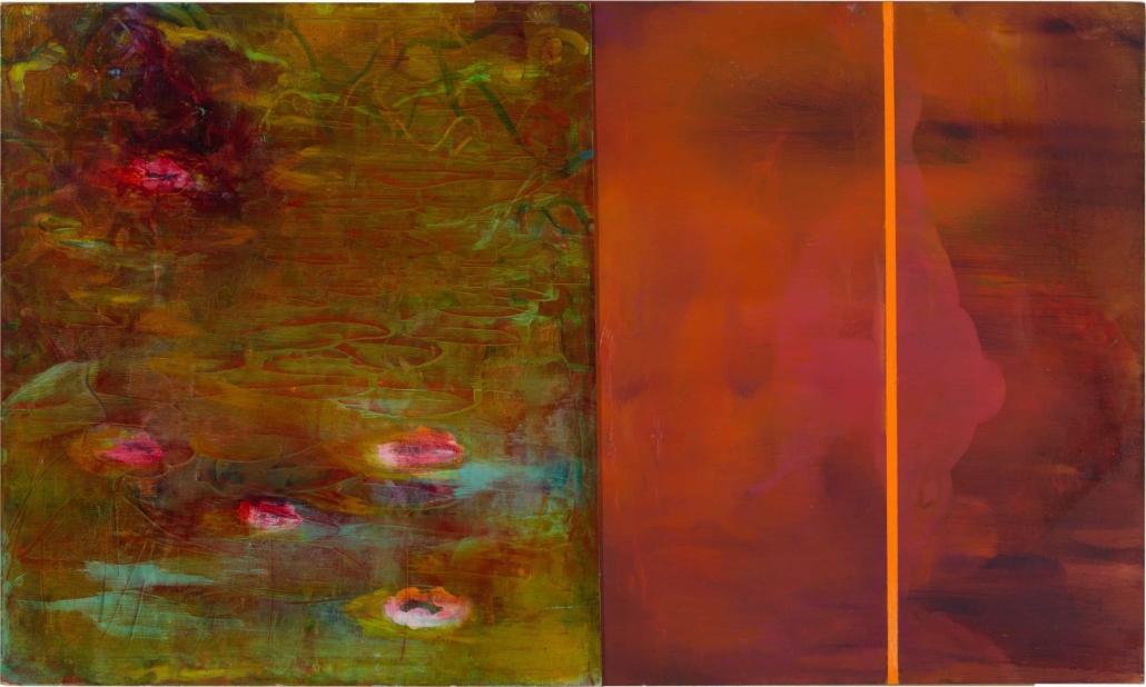 Nr.15 | 84 x 50 cm | z.t. |olieverf | 2 panelen | 2017