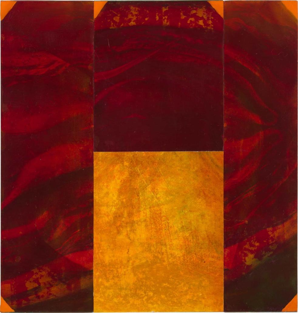 Nr.18 | 50 x 53 cm | z.t. |olieverf | 4 panelen | 2017
