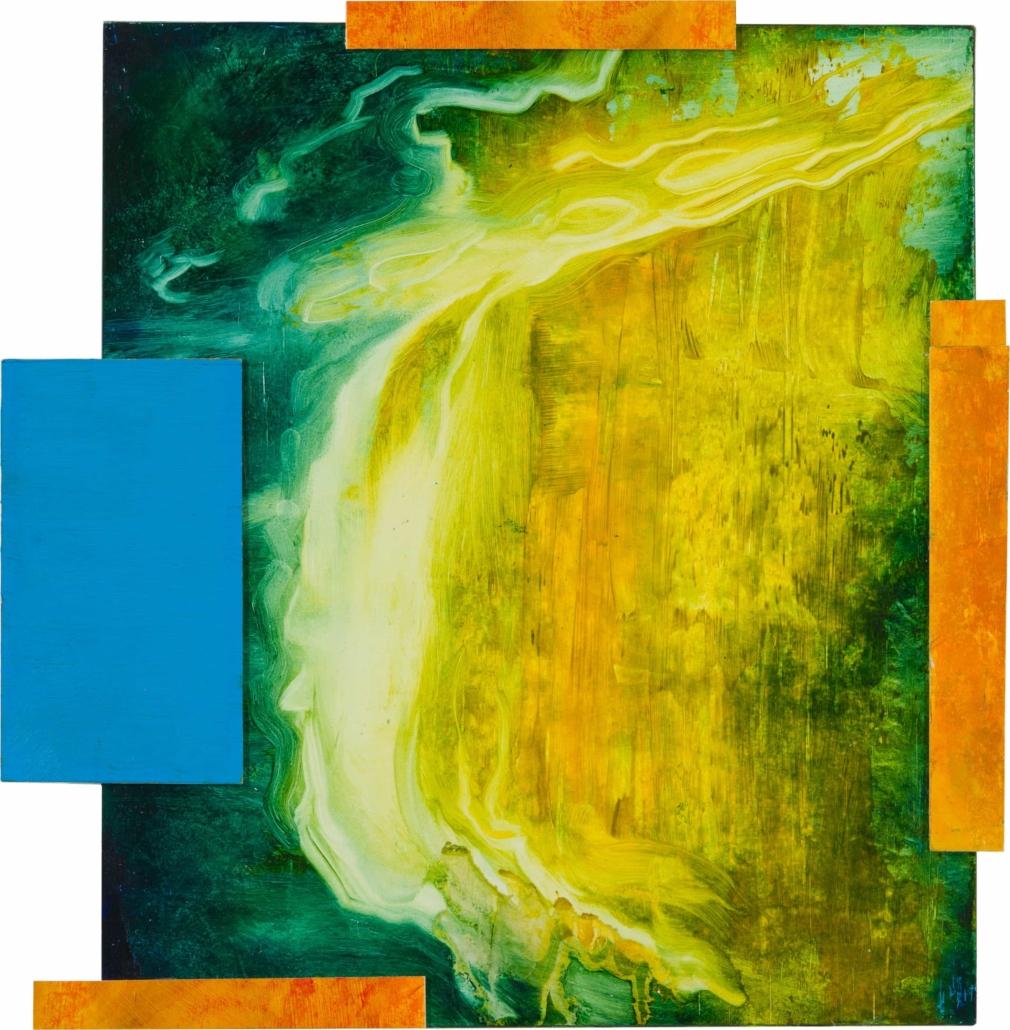 Nr.34 | 38 x 40 cm | z.t. |olieverf | 5 delen | 2018