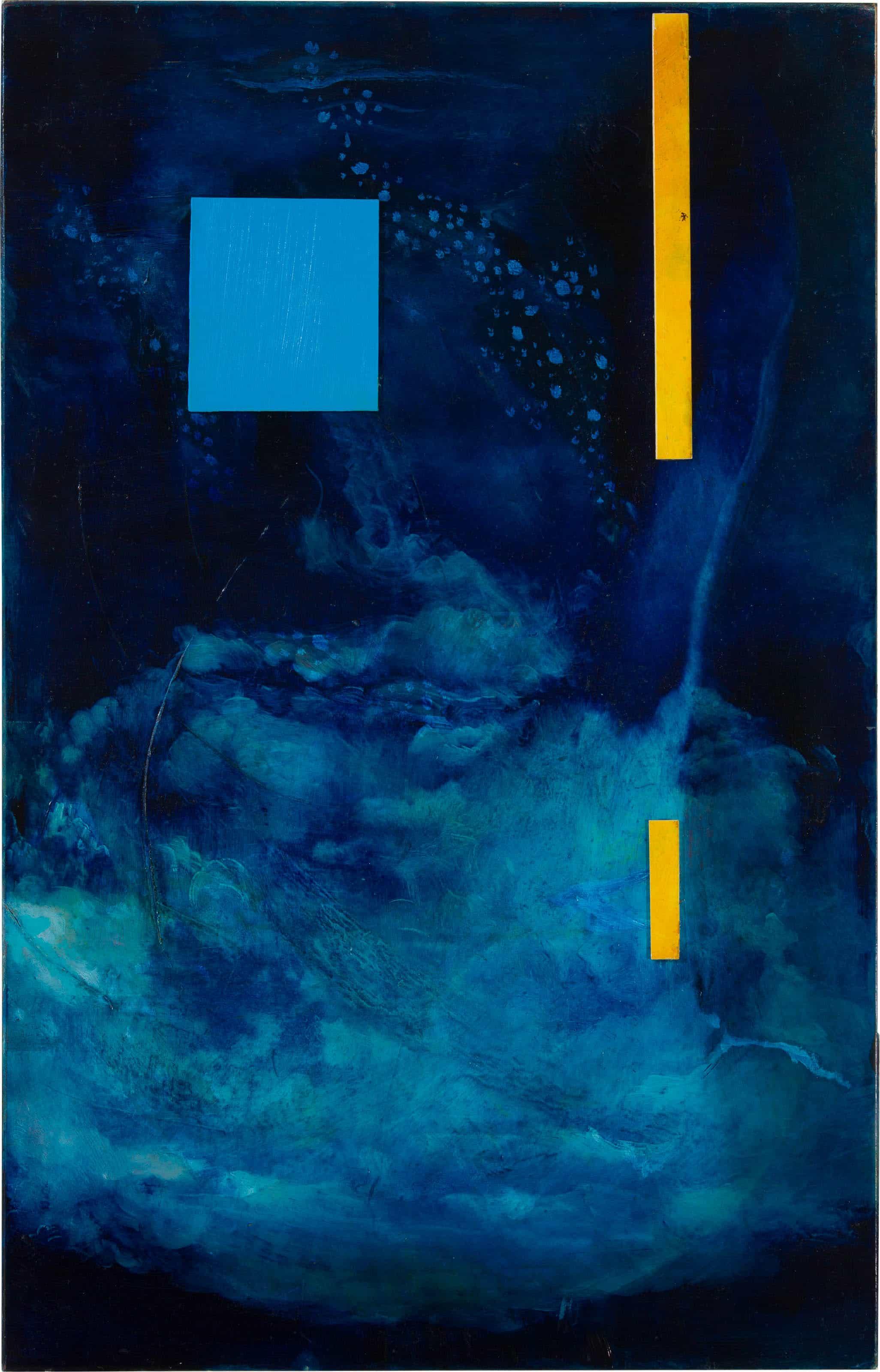 Nr.35 | 69 x 44 cm | z.t. |olieverf | 4 delen | 2018