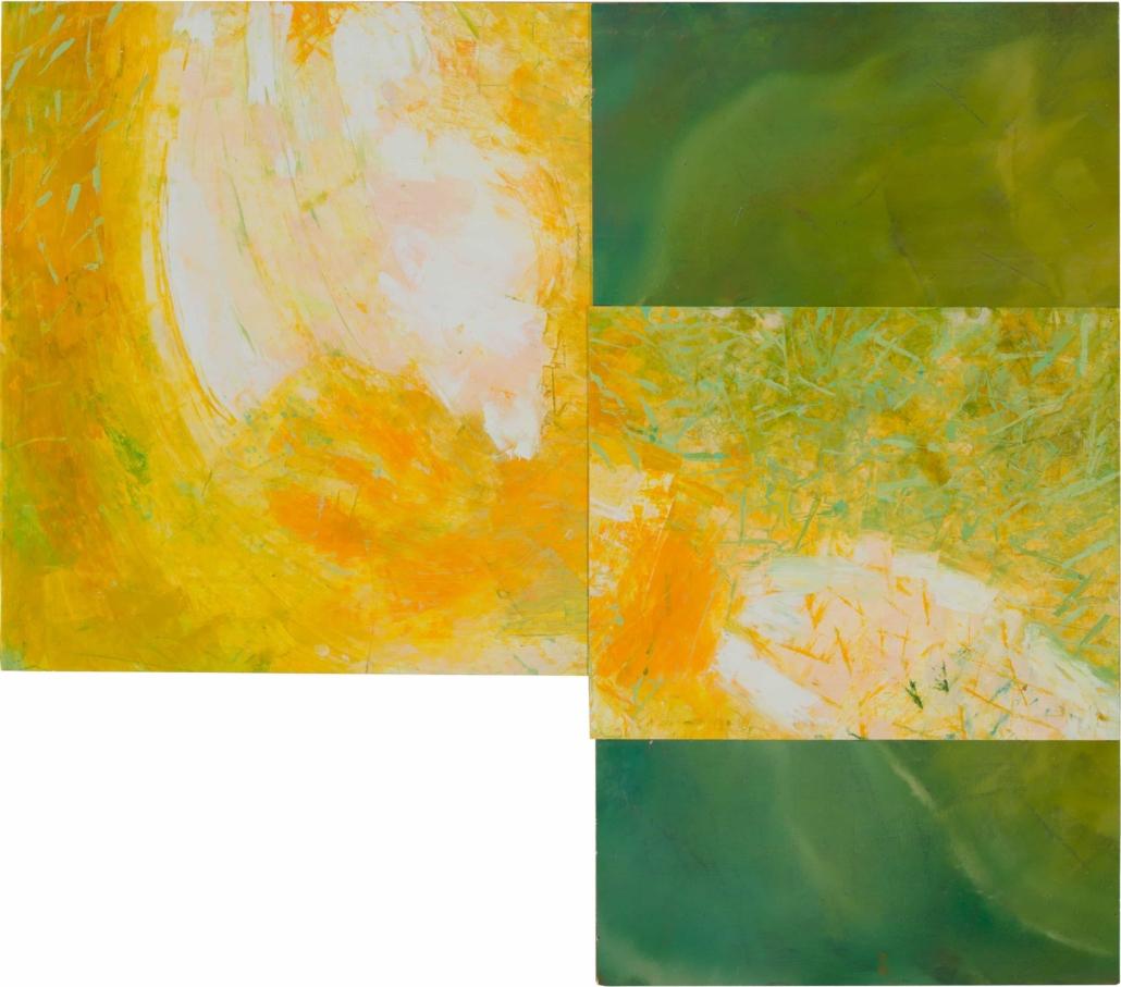 Nr.41 | 70 x 80 cm | z.t. |olieverf | 4 delen | 2019